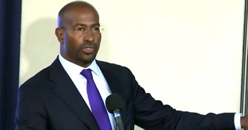 van jones, green for all,
