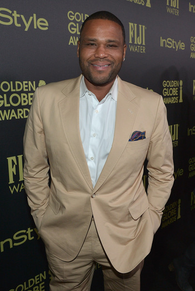 Actor Anthony Anderson attends FIJI Water At The HFPA And InStyle Celebration of Miss Golden Globe 2016 at Ysabel on November 17, 2015 in West Hollywood, California.