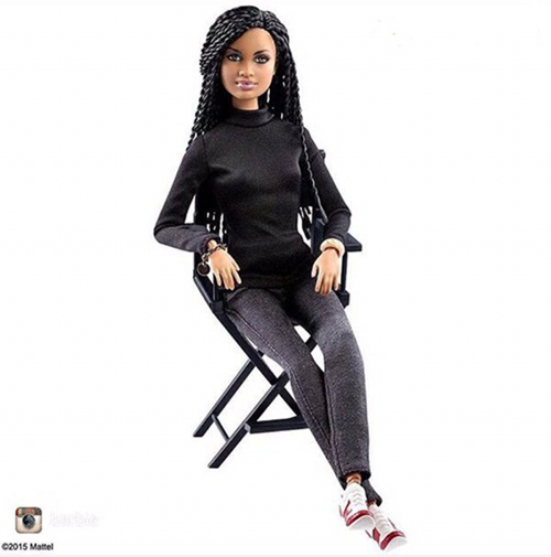 ava barbie in chair