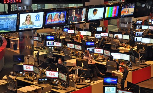 CNN Studios in Atlanta