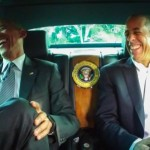 Pres. Obama Films Seinfeld's 'Comedians in Cars Getting Coffee'