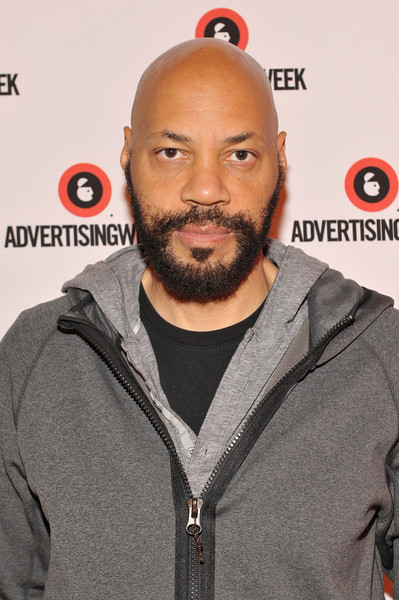 (L-R) Executive Producer John Ridley poses at the The Power of Inclusiveness Through Great Storytelling panel presented by ABC during Advertising Week 2015 AWXII at the Times Center Stage on October 1, 2015 in New York City.