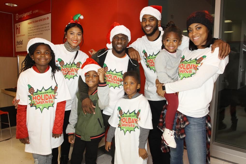 chris paul, kevin hart, holiday take over
