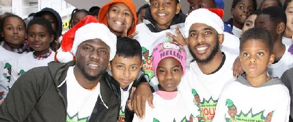 kevin hart chris paul and kids