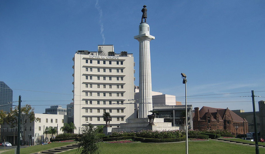 Robert E. Lee statue in Lee Circle, New Orleans