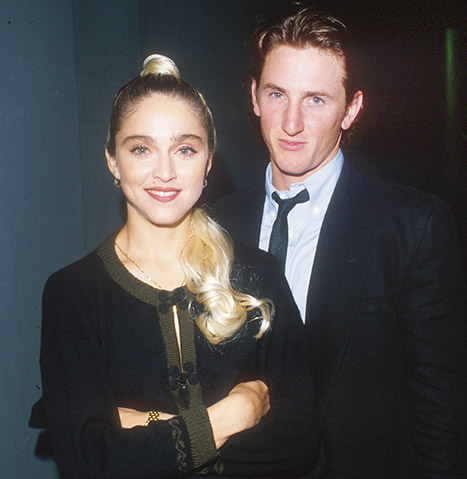 Madonna and Sean Penn back in the day