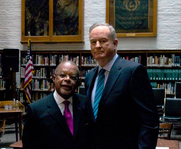 "Dr. Henry Louis Gates Jr. with Bill O'Reilly on ""Finding Your Roots"""