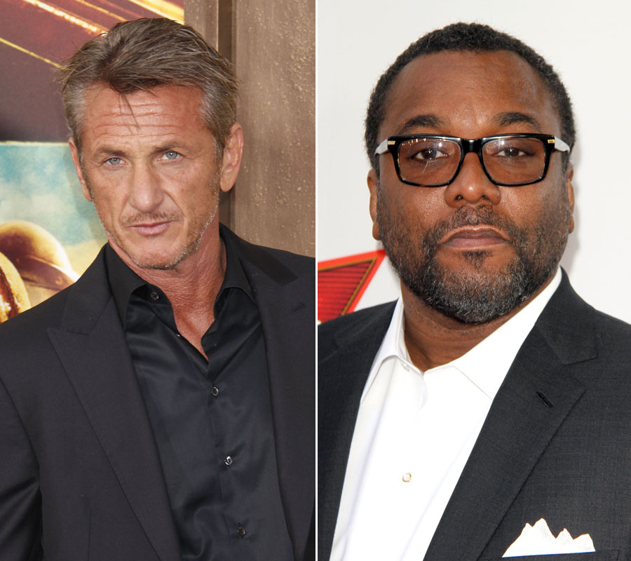 Sean Penn (L) and Lee Daniels