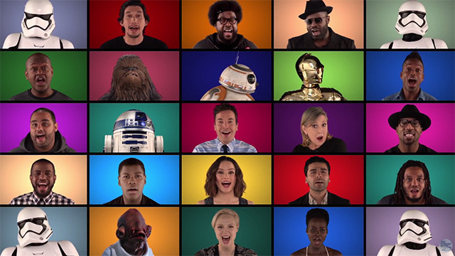 star wars medley (on tonight show)