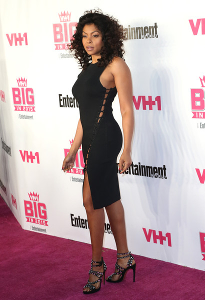 Actress Taraji P. Henson attends VH1 Big in 2015 With Entertainment Weekly Awards at Pacific Design Center on November 15, 2015 in West Hollywood, California.