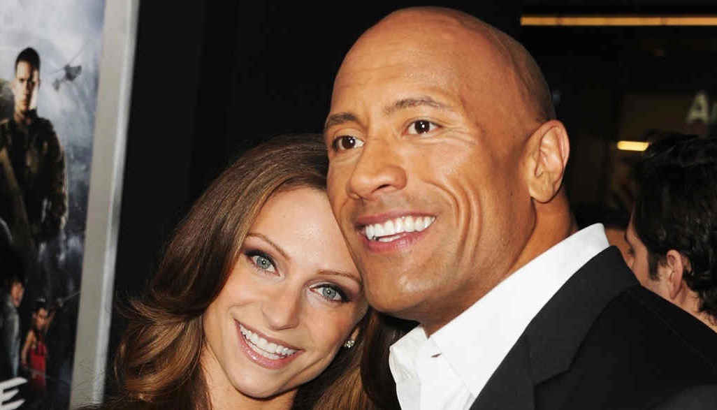 """HOLLYWOOD, CA - MARCH 28:  Lauren Hashian and actor Dwayne Johnson attend the premiere of Paramount Pictures' """"G.I. Joe:Retaliation"""" at TCL Chinese Theatre on March 28, 2013 in Hollywood, California.  (Photo by Kevin Winter/Getty Images)"""