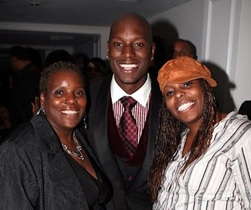 tyrese mom & sister