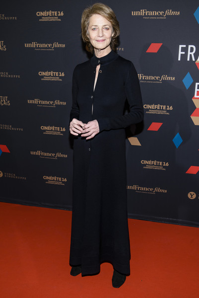 Charlotte Rampling attends the EFA Filmgala Opening - 15th French Film Week Berlin on December 11, 2015 in Berlin, Germany.