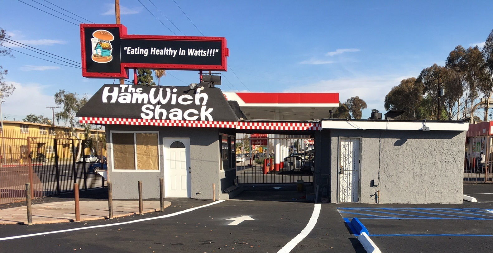 The Hamwich Shack in Watts, CA