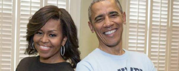 Michelle Obama & Barack Obama - slider