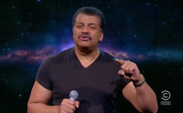 "Neil DeGrasse Tyson on ""The Nightly Show with Larry Wilmore"""