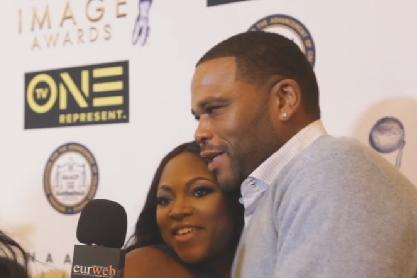 anthony anderson & naturi naughton - image awards luncheon1
