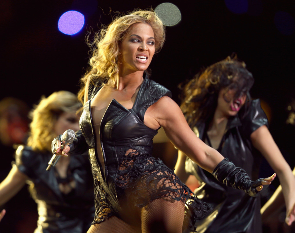 NEW ORLEANS, LA - FEBRUARY 03:  Beyonce performs during the Pepsi Super Bowl XLVII Halftime Show at Mercedes-Benz Superdome on February 3, 2013 in New Orleans, Louisiana.