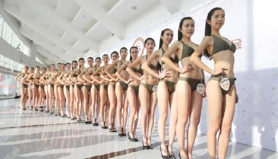 chinese beauty contestants