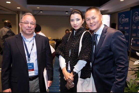 guests at the hope global forum
