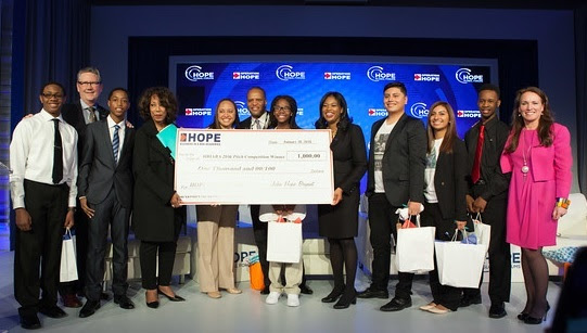 the hope global forum youth case competition participants