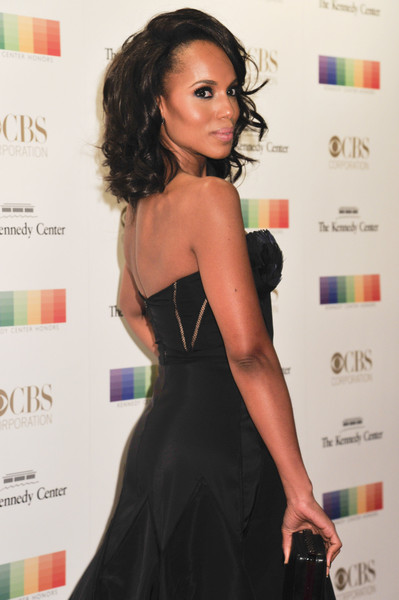 Actress Kerry Washington arrives at the 38th Annual Kennedy Center Honors Gala at the Kennedy Center for the Performing Arts on December 6, 2015 in Washington, DC.