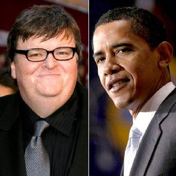 michael moore & president obama
