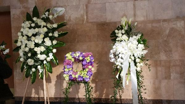 natalie cole funeral flowers