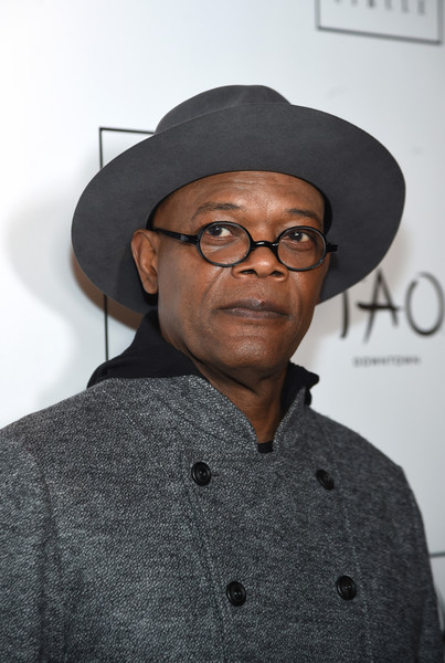 Actor Samuel L. Jackson attends 2015 New York Film Critics Circle Awards at TAO Downtown on January 4, 2016 in New York City.