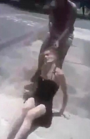 Woman dragged through streets of Brazil by her boyfriend's wife - allegedly