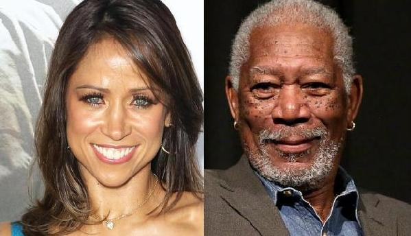 stacey dash & morgan freeman