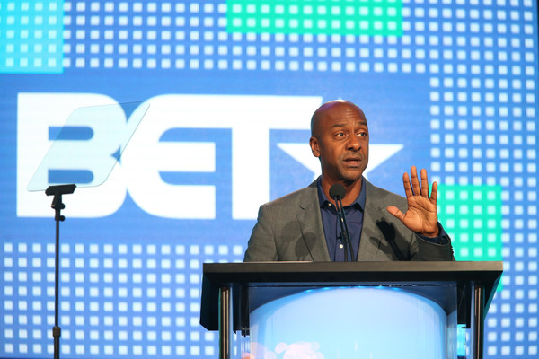 Stephen Hill, president of programming, BET, speaks onstage during the BET-Zoe Ever After panel as part of the Viacom portion of This is Cable 2016 Television Critics Association Press Tour at Langham Hotel on January 6, 2016 in Pasadena, California.