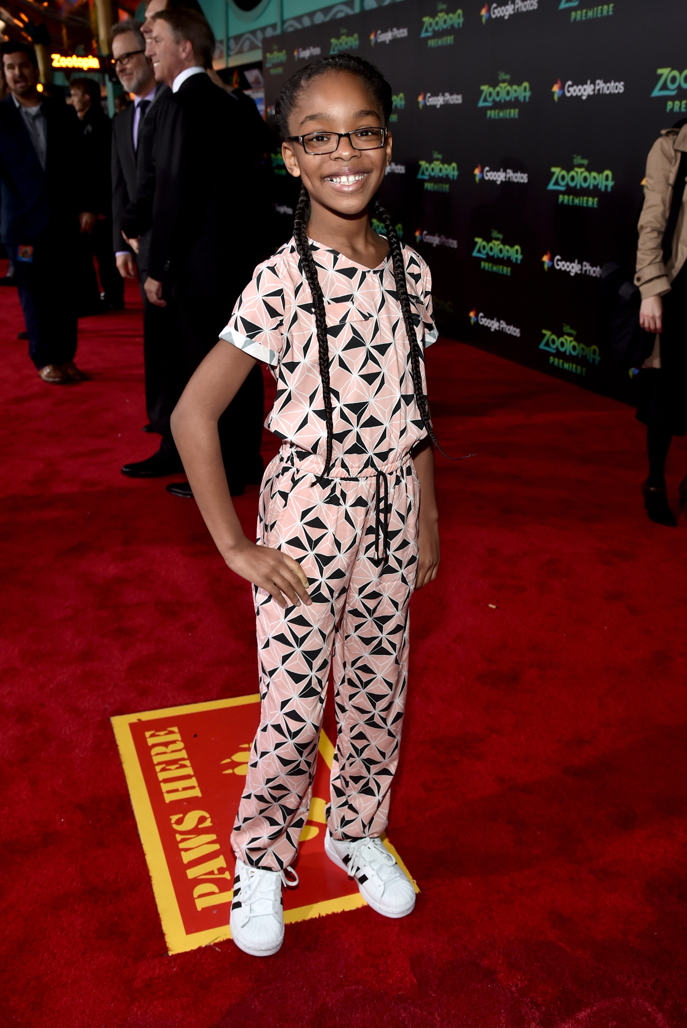 Actress Marsai Martin attends the Los Angeles premiere of Walt Disney Animation Studios' 'Zootopia' (Photo by Alberto E. Rodriguez/Getty Images for Disney)