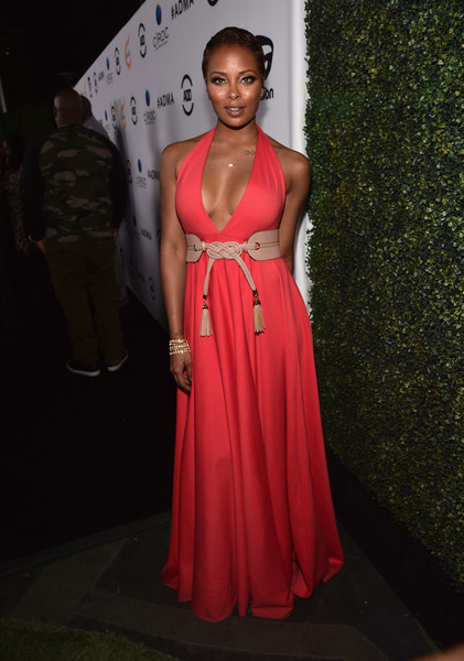 Actress Eva Marcille attends the ALL Def Movie Awards at Lure Nightclub on February 24, 2016 in Hollywood, California.