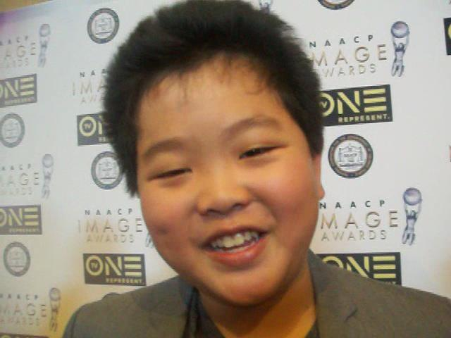 Hudson Yang, nominated for 'Outstanding Performance by a Youth' NAACP Image Award. (Photo credit: Eunice Moseley)
