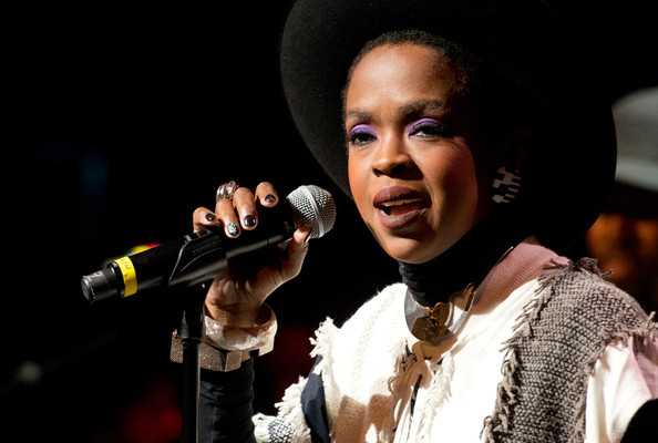 Singer Lauryn Hill performs during The Wailers 30th Anniversary Performance at The Apollo Theater on November 29, 2014 in New York City.
