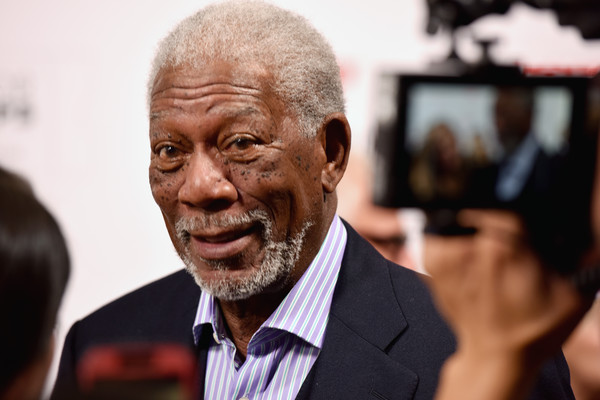 Actor Morgan Freeman attends AARP's Movie For GrownUps Awards at the Beverly Wilshire Four Seasons Hotel on February 8, 2016 in Beverly Hills, California.