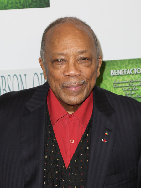 Quincy Jones is seen arriving for the 17th Annual Women's Image Awards held at Royce Hall.
