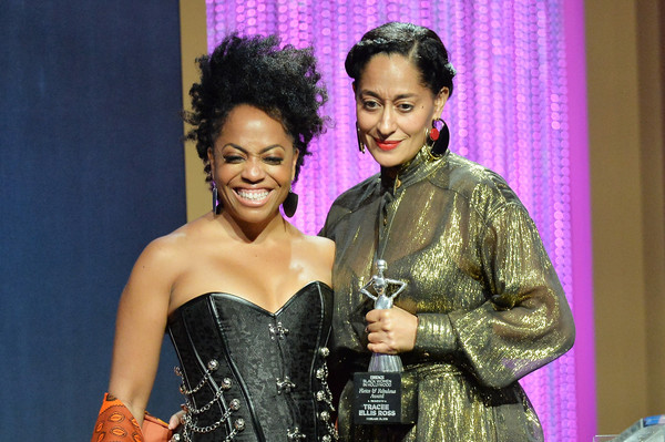 Rhonda Ross Kendrick  and Tracee Ellis Ross