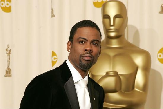 chris rock with oscar statue