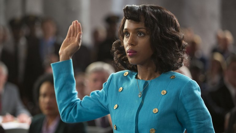 "Kerry Washington as Anita Hill in HBO's ""Confirmation"""
