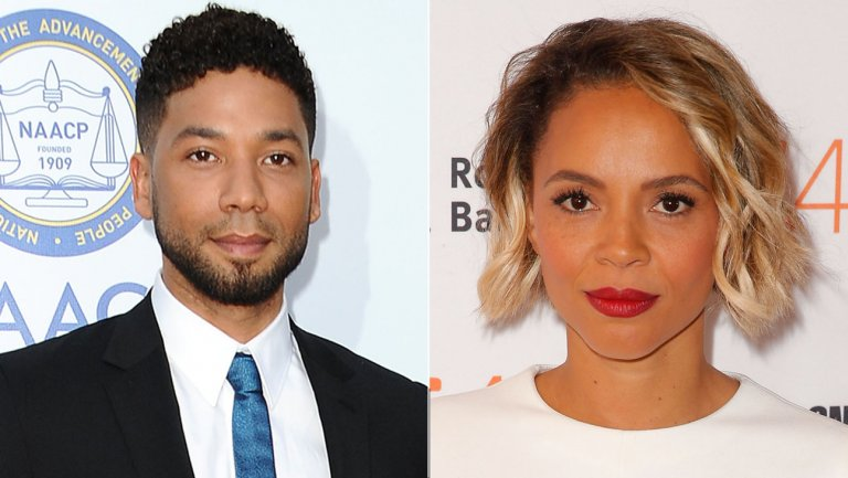 Jussie Smollett and Carmen Ejogo