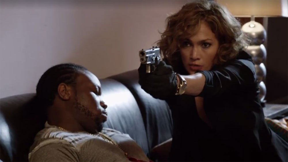"Jennifer Lopez in NBC's ""Shades of Blue"""