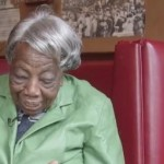 WATCH 106-Yr-Old Virginia McLaurin Watch Herself Meeting the Obamas