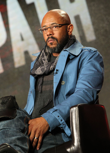 Actor Rockmond Dunbar speaks onstage during the Hulu Winter TCA Press Tour 2016 'The Path' panel at The Langham Huntington Hotel and Spa on January 9, 2016 in Pasadena, California.