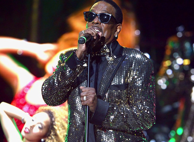 Charlie Wilson performs at Jazz in the Garden. Photo courtesy of Circle One Marketing.