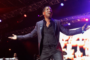 """Kenny """"Babyface"""" Edmonds performs onstage at 11th Annual Jazz In The Gardens Music Festival - Day 2 at Sunlife Stadium on March 20, 2016 in Miami, Florida. (Photo by Mychal Watts/Getty Images for Jazz in the Gardens)"""