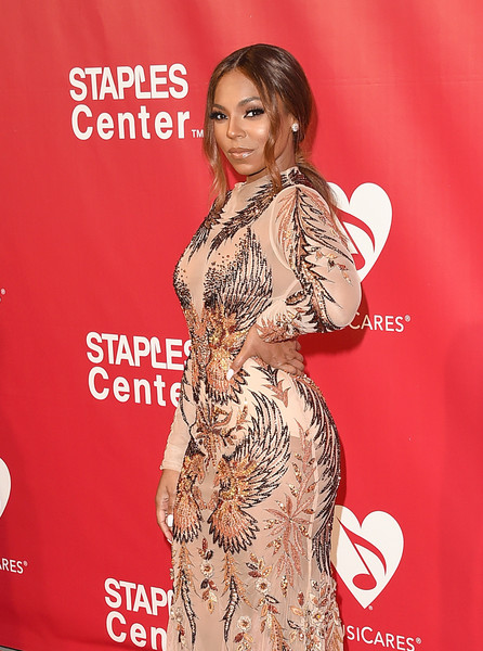 Singer Ashanti attends the 2016 MusiCares Person of the Year honoring Lionel Richie at the Los Angeles Convention Center on February 13, 2016 in Los Angeles, California.
