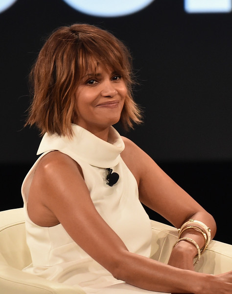 Actress Halle Berry speaks at the AOL 2016 MAKERS conference at Terranea Resort on February 2, 2016 in Rancho Palos Verdes, California.