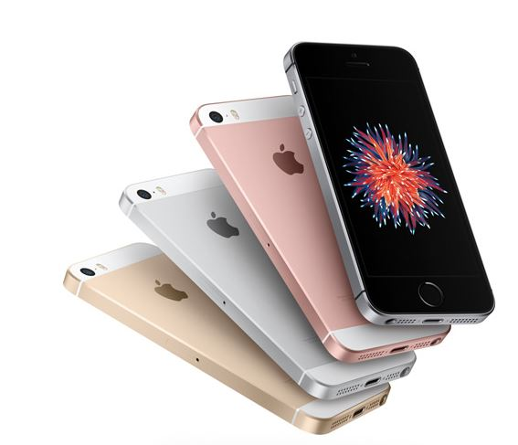 Apple's New iPhone; image captured from Apple's website.